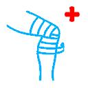 травма ушиб колена Первая помощь